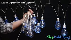 Shopwildthings Com Coupon by Battery Operated Light Bulb String Lights Shopwildthings