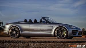 2007 Porsche Panamera X Tomi Design Porsche Panamera Sport Cabriolet Concept