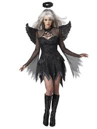 Halloween Costumes For Women Womens Sultry Fallen Angel Gothic Costume Fancydress Com
