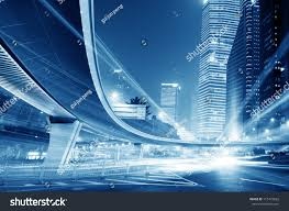 Modern City by Shanghai Lujiazui Finance Trade Zone Modern Stock Photo 115473625