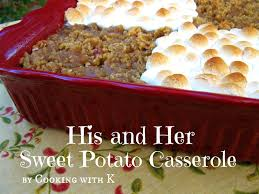 sweet potatoes thanksgiving marshmallows cooking with k crustless sweet potato pie a classic way to use