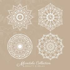 mandala designs collection vector free