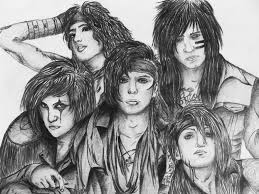 black veil black veil brides portrait by katarinaautumn on deviantart