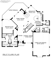 Dutch Colonial Floor Plans Down Master Edg Plan Collection