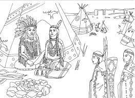 winsome iroquois coloring pages 2 woodland indian educational