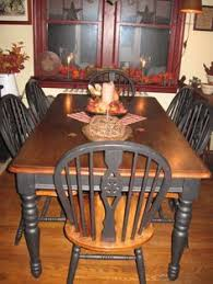 primitive dining room tables reclaimed wood burnt golden fair primitive kitchen tables home