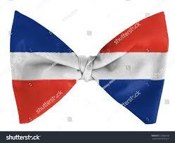 Dominican Republic Flags Dominican Republic Flag On Bow Tie Stock Photo 120860518