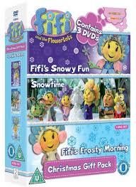 8 99 fifi flowertots christmas gift pack dvd