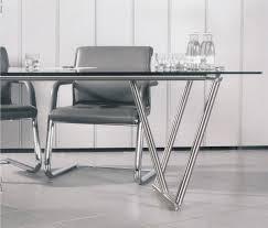Schreibtisch Glasplatte Massivholz Tische