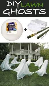 How To Make A Haunted Maze In Your Backyard Best 25 Diy Ghost Decoration Ideas On Pinterest Halloween Ghost