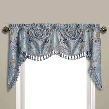 amazon com united curtain jewel woven austrian topper window