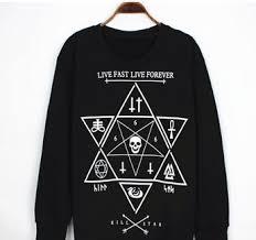 live fast live forever u0027 sweatshirt by boutique de la clique