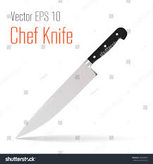 vector chef kitchen knife icon chef stock vector 402858655
