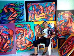 edwin buboy dinapo award winning filipino painter and visual artist jenny s serendipity art blog