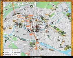 map brussels brussels map tourist attractions holidaymapq