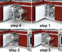 Kitchen Corner Cabinet Storage Solutions Blind Corner Kitchen Cabinet Ideas Kitchen Corner Cabinet