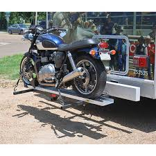 Tire Rack Motorcycle Heavy Duty Hitch Mounted Motorcycle Hauler Smc 600r Discount Ramps