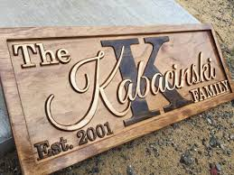 wedding gift signs 3d woodworker personalized family name signs wooden wedding gifts