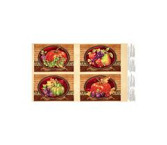 thankful harvest placemat 24 in panel multi sewing ideas