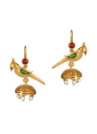 pretty earrings esa pretty parrot earrings shop earrings at strandofsilk
