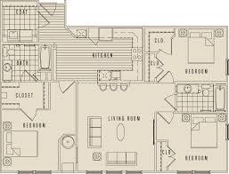 three bedroom apartments floor plans 3 bedroom luxury apartments playmaxlgc com