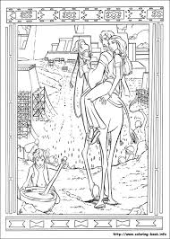 prince of egypt coloring picture