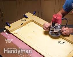 Convert Wood Cabinet Doors To Glass Family Handyman