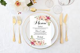 idee menu mariage de 30 idées pour présenter votre menu de mariage
