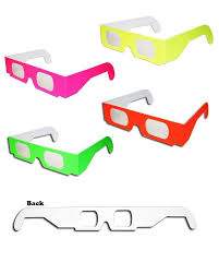amazon com 50 pairs 3d fireworks glasses neon multi starbursts of