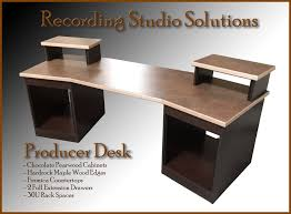 Build A Studio Desk Plans by Desk Best Recording Studio Pro Audio Equipment Ebay Intended For