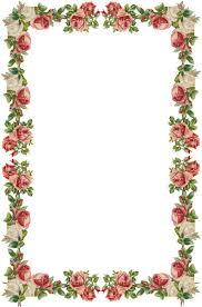delicate png transparent flower frame frames for designing and