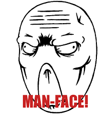 Mad Meme Face - man faceplz deviantart