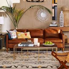 awesome butterscotch leather sofa hamilton leather sofa west elm