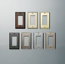 Metal Switch Plates Restoration Hardware Update The Plug Covers