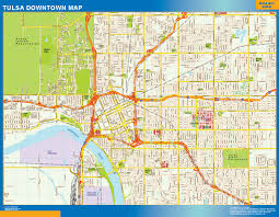 map of tulsa tulsa downtown map canada wall maps