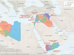 40 Maps That Explain The World by 5 Maps That Explain The New Middle East Business Insider
