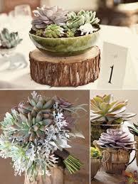 marvellous succulent centerpiece wedding wedding succulent