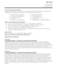 administrative assistant resume skills profile exles curriculum vitae personal profile exle here are executive