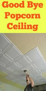 Easy Basement Ceiling Ideas by You Can Attach A Plastic Bag To This Popcorn Ceiling Scraper From