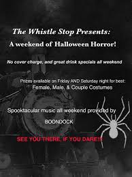 saturday night halloween party whistle stop blog archive boondock halloween party weekend