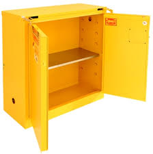 Yellow Flammable Storage Cabinet A330 30 Gal Flammable Cabinet Flammable Safety Storage