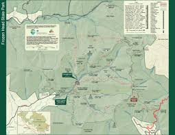 Ohio State Parks Map Frozen Head State Park U2014 Tennessee State Parks