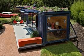 backyard architecture gallery of container guest house poteet architects 2