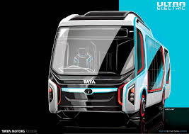 concept bus tata ultra electric bus concept looks to future of public transport