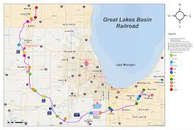 Chicago Trains Map by Update Chicago Bypass Proposal Halted By Stb Trains Magazine