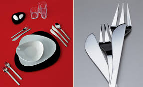 cutlery set with stand colombina cutlery set hivemodern com