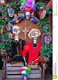 mexican christmas dead decorations old san diego royalty free