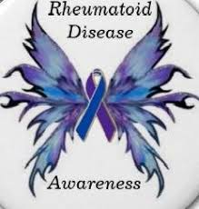 ra ribbon rheumatoid arthritis butterfly ribbon beautiful isn t it saw on