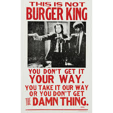 halloween horror nights burger king pulp fiction burger king billboard rockabilia