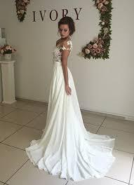 robe de mari e l gante robe de mariage robe de cérémonie élégante dentelle mousseline